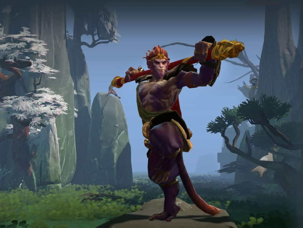 Dota 2's Monkey King hero