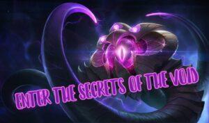Vel'koz Champion - The Void League of Legends banner