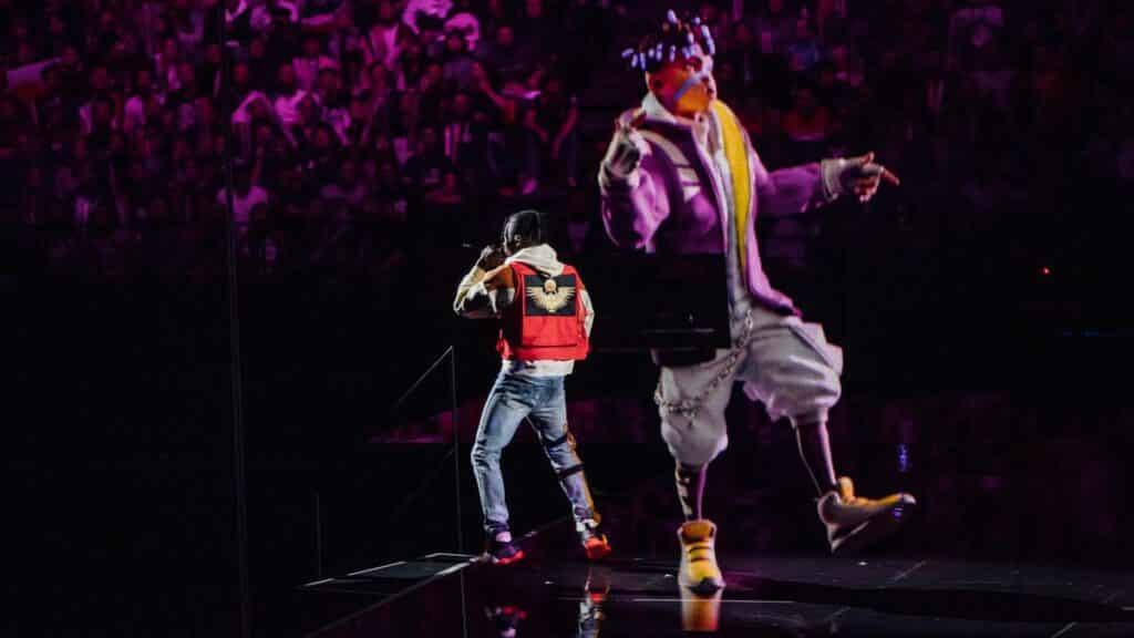 Ekko and Dckswrth dancing at Worlds 2019