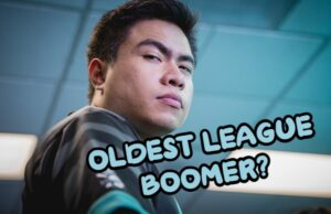 Xmithie raising his eyebrow   Oldest League of Legends Pro Banner