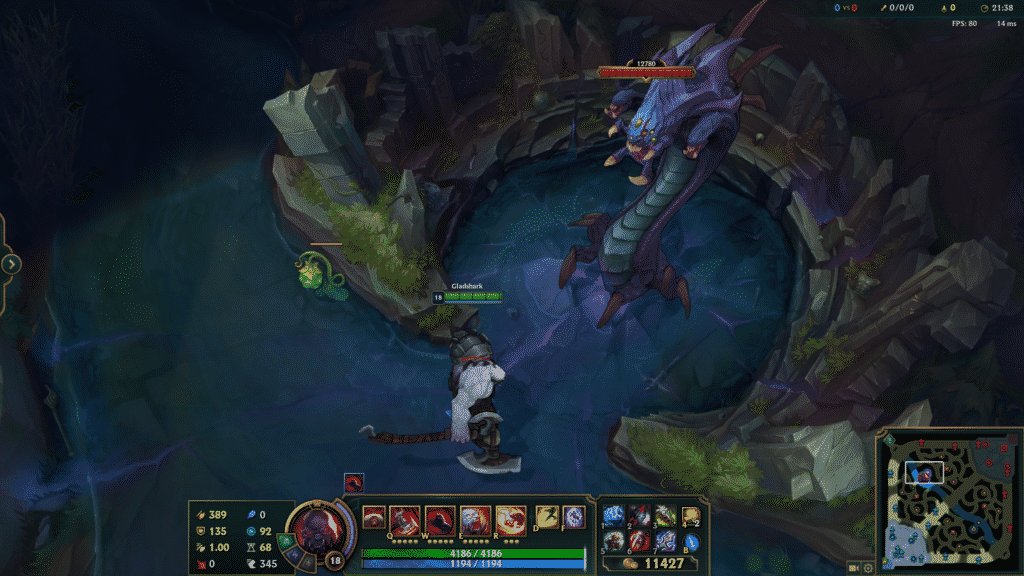 Sion standing in front of Baron Nashor   League of Legends Objectives
