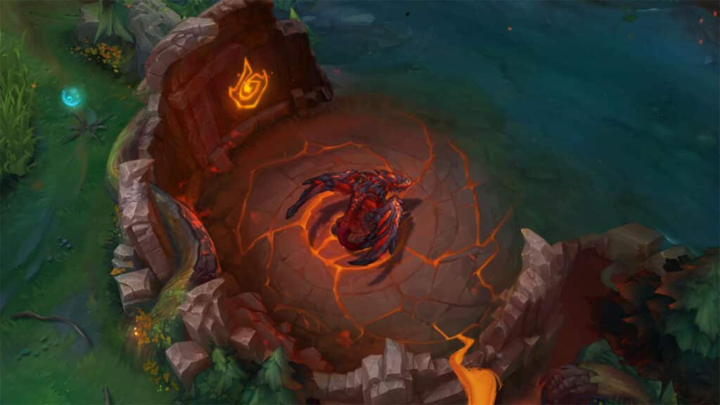 Infernal Drake chilling in the pit