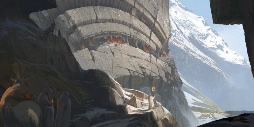 The side of Mount Targon