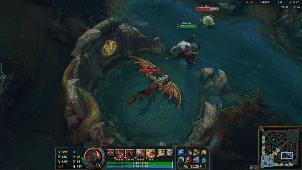 Sion standing in front of the Mountain Drake
