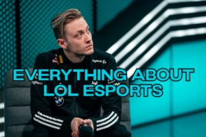 Rekkles looking into the distance - LoL Esports Structure Banner