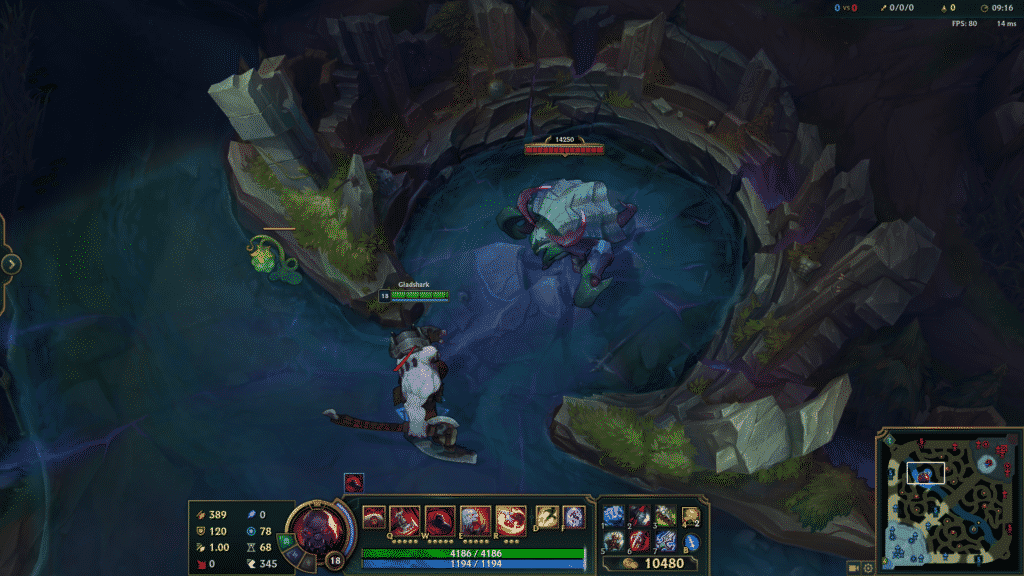 Sion standing in front of the Rift Herald