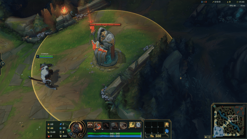 Sion standing in front of the enemy Turret   League of Legends objectives