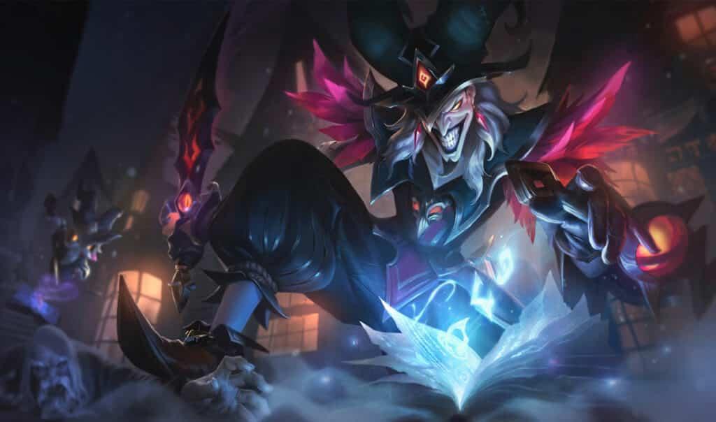 Shaco delving into dark magic - League of Legends assassins
