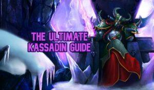 Kassadin sitting on a void throne - Kassadin Guide Banner