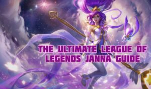 Janna floating above the clouds - Janna Guide Banner