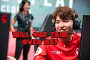 100T Ryoma smiling at someone | LCS OCE players banner