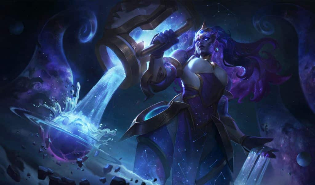 Illaoi infused with the essence of the universe