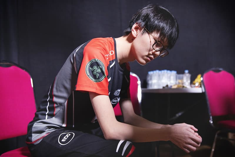 EDG Meiko looking a bit disappointed | Best Support Players of All-Time
