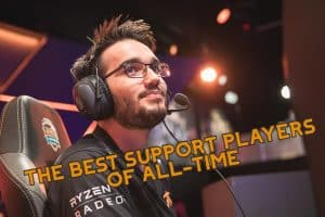 Hylissang looking up at the sky | Best Support Players of All-Time Banner