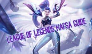 Kaisa wearing her KDA uniform | Kaisa guide banner