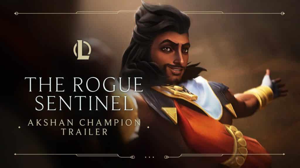 Akshan's character release trailer