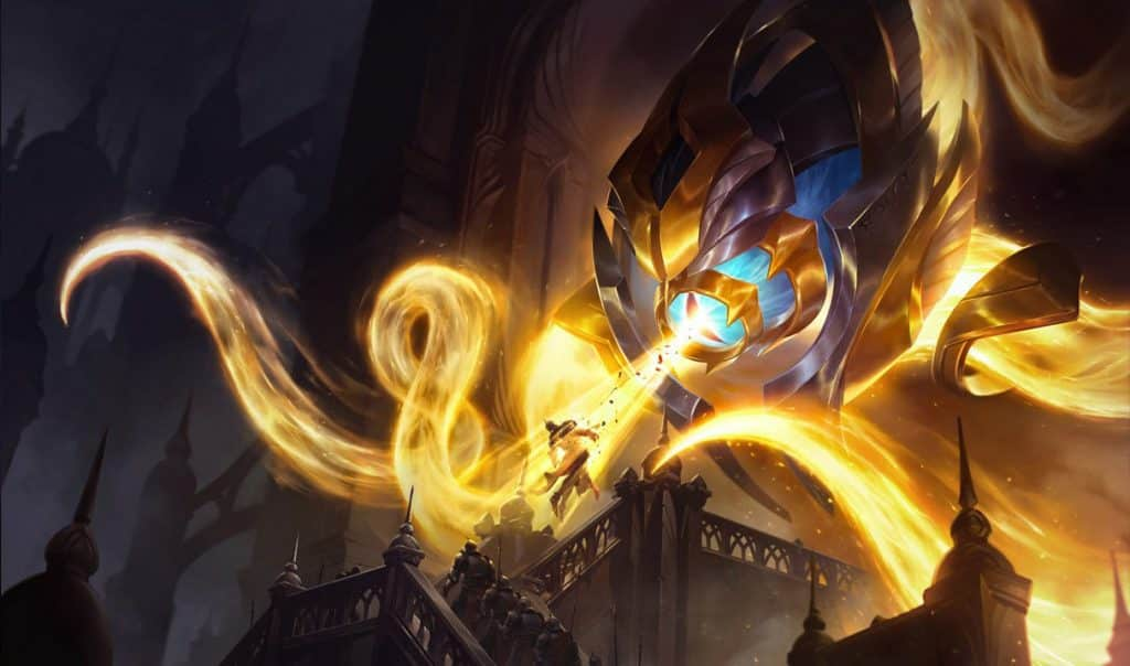 Vel'koz shooting out holy light   LoL Support Tips