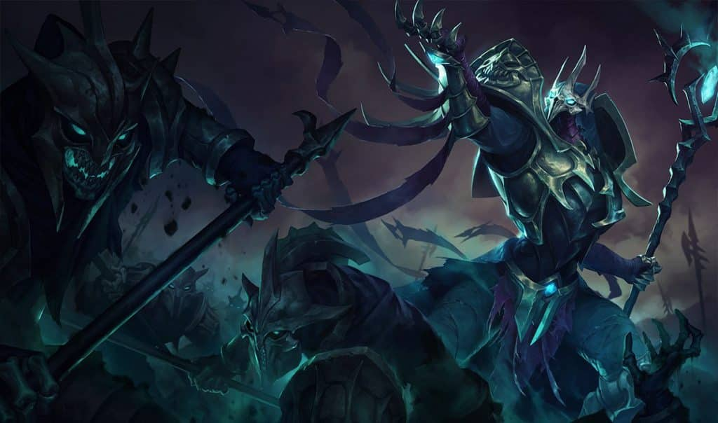 Azir commanding an army of the dead | Biggest LoL Villains