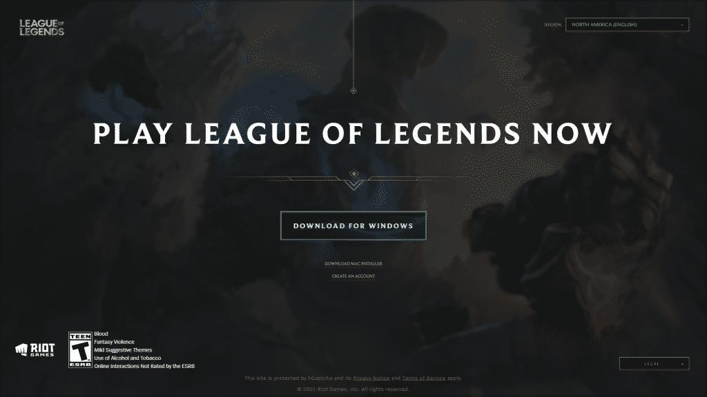 League of Legends Signup Website | What is League of Legends?