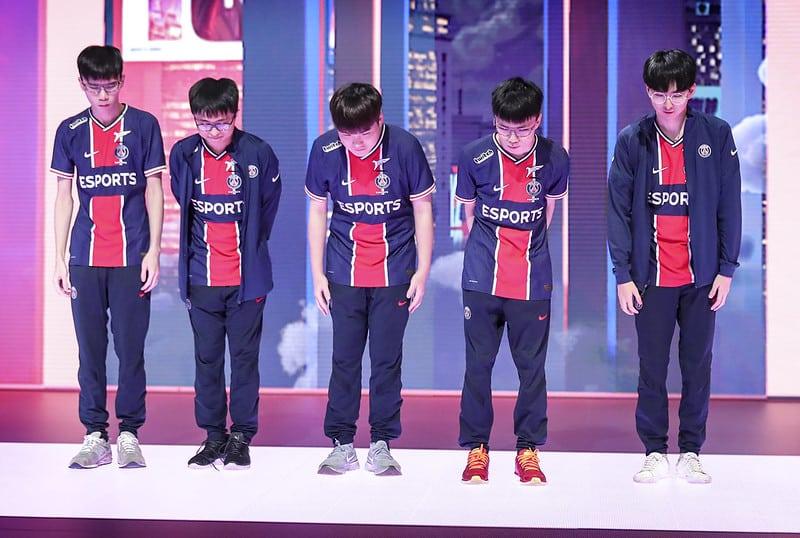 PSG Talon taking a bow | LoL PCS