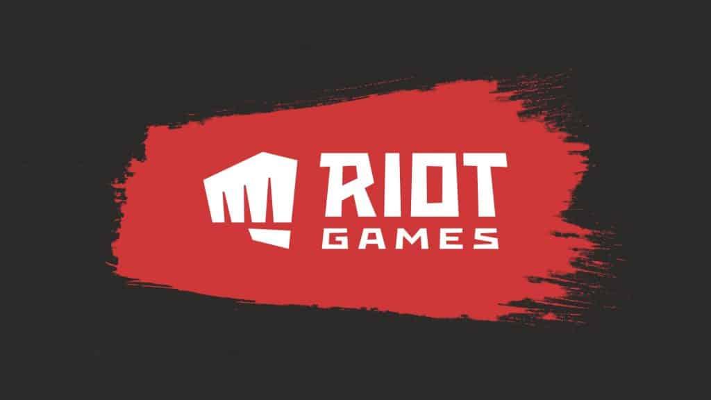 The Riot Games modernized logo