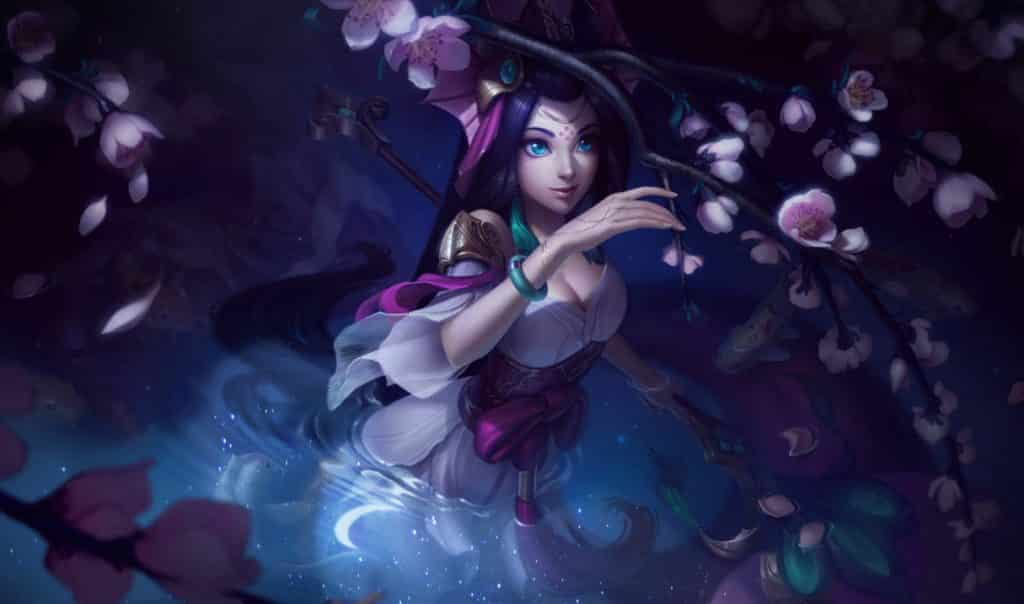 Nami reaching for the Spirit Blossoms   LoL Support Tips