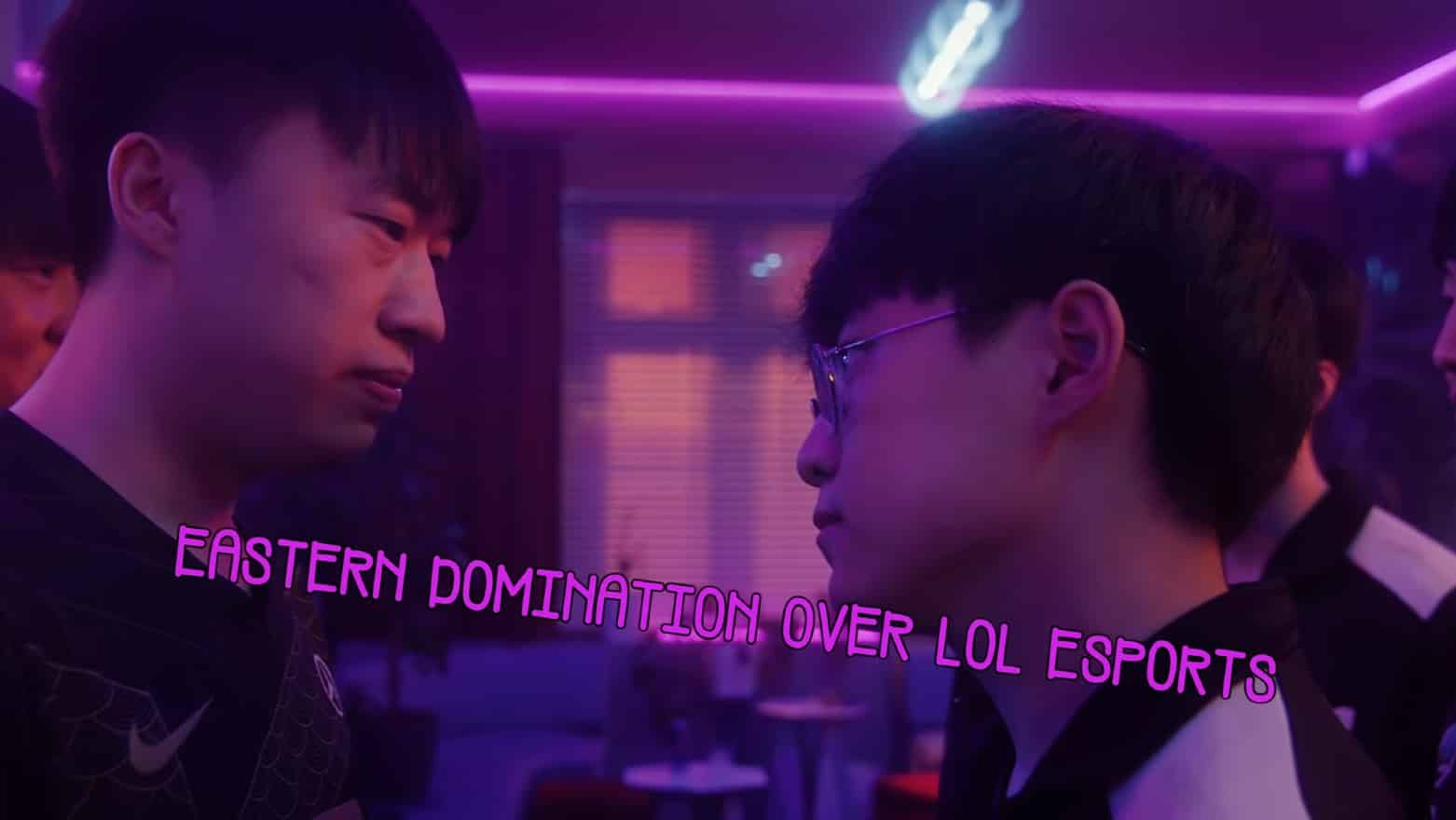 RNG Xiaohu facing off against DK Showmaker | Eastern LoL Dominance