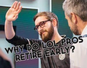 Bjergsen waving goodbye - Esports Players Retirement