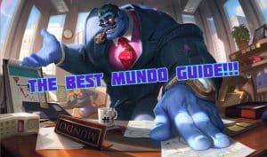 Dr. Mundo dressed as a corporate giant - Dr. Mundo Guide