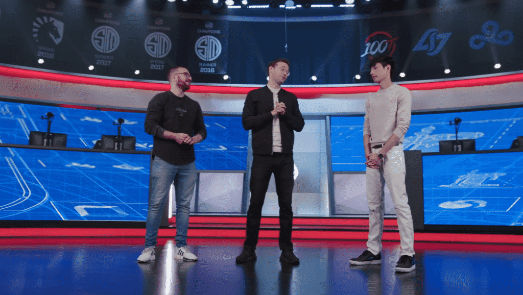 LCS Masterminds Hosts discussing