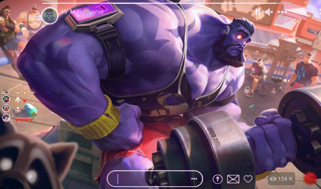 A buff Dr Mundo working out - Dr. Mundo Guide