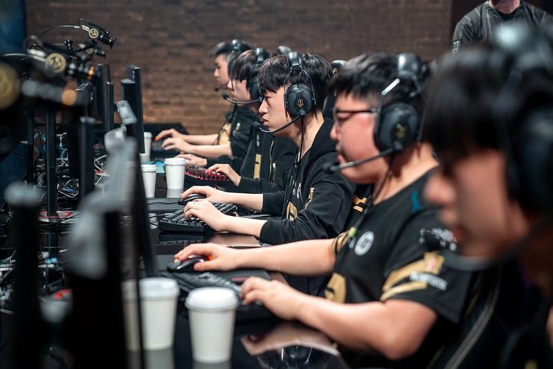 RNG focused on the game