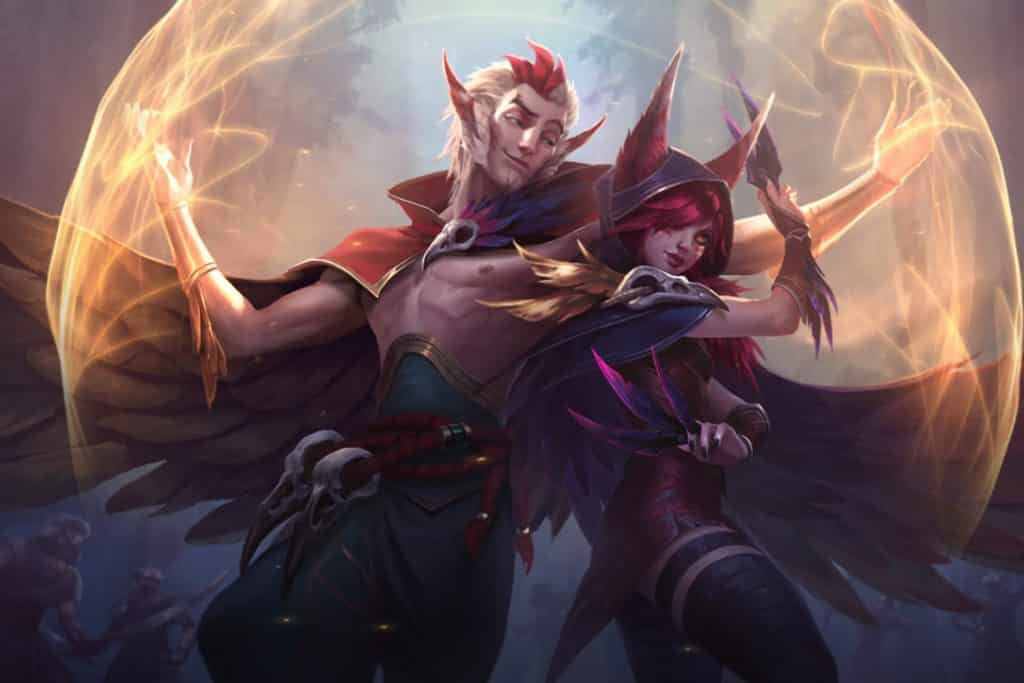 Xayah and Rakan back-to-back - Types of LoL Players