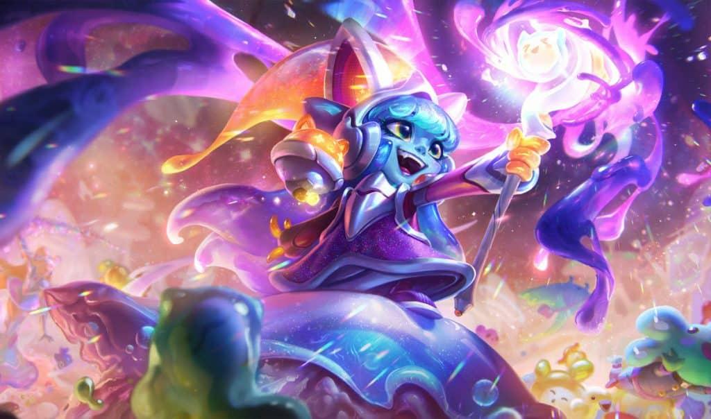 Lulu looking like a blue alien - Types of LoL Players