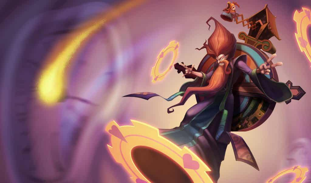 Zilean with a groovy skin