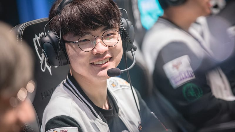 Worlds 2021 Players - T1 Faker