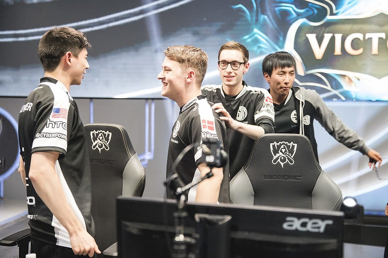 TSM's 2016 Championship Roster after a win - The Story of TSM