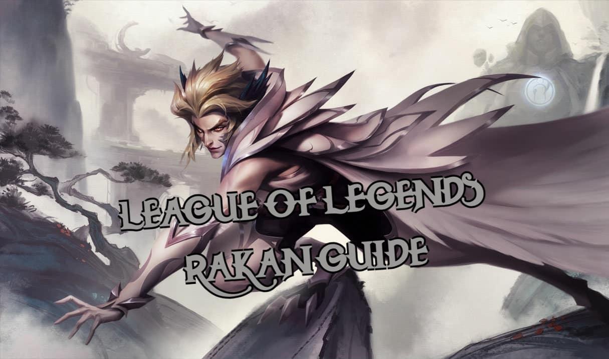 iG Rakan on top of a rock - Rakan Guide banner