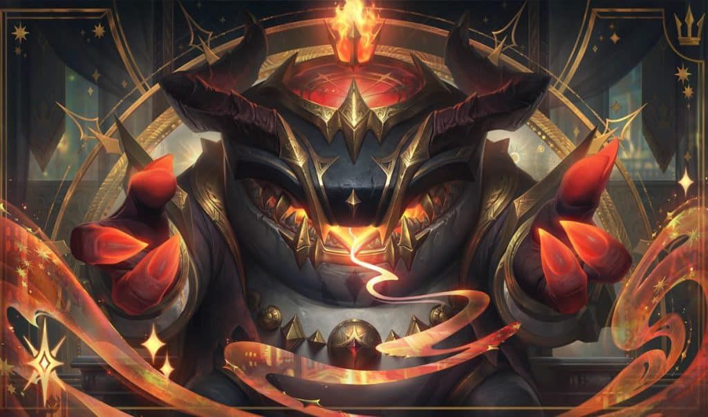 Tahm Kench as a cult figure - tankiest LoL champs