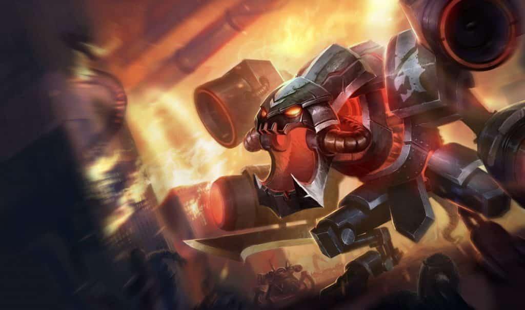 Cho'gath as a machine of war tankiest LoL champs