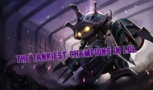 Rammus as a fullmetal robot - tankiest lol champs banner