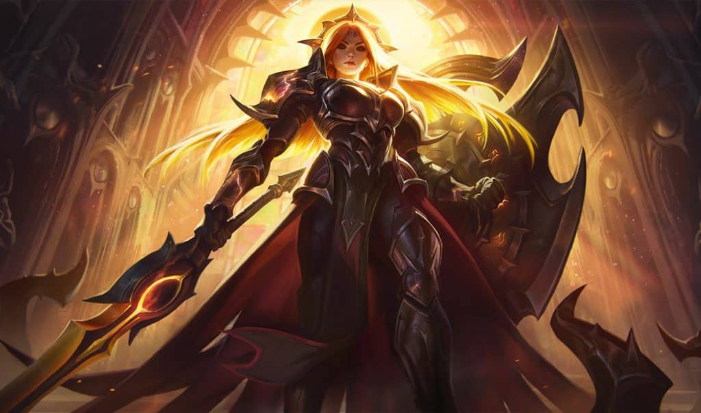 Leona under the power of the sun